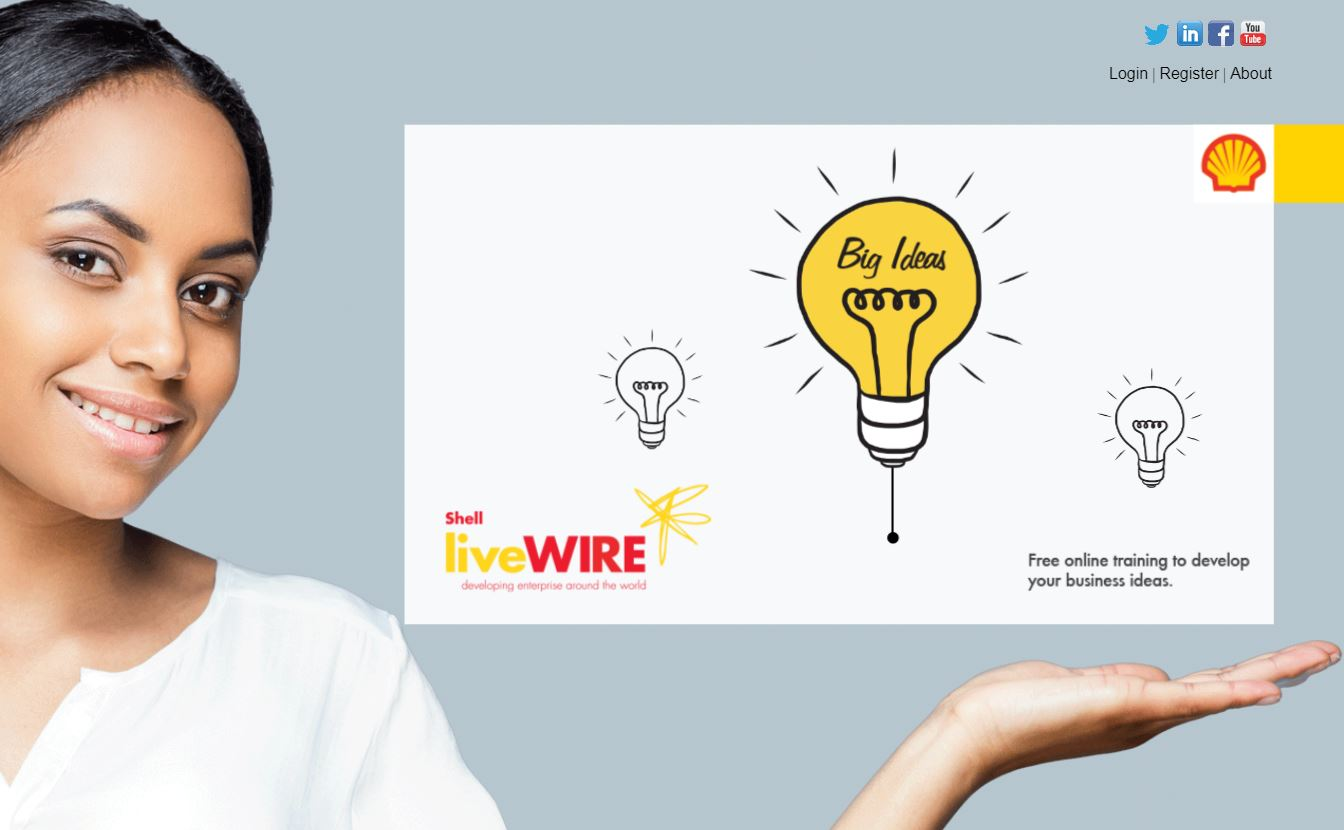 Shell LiveWIRE Bright Ideas Programme